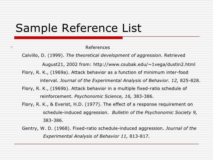apa format reference list website thesis statement