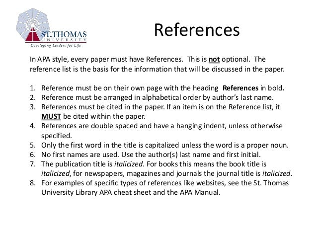 Handouts & Tutorials - APA Style Guide - Library at ...
