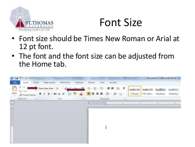 Apa style tutorial