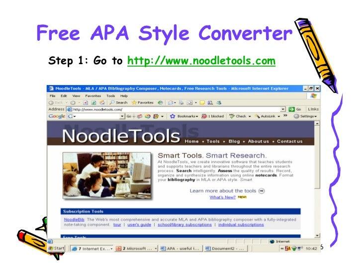 free apa style