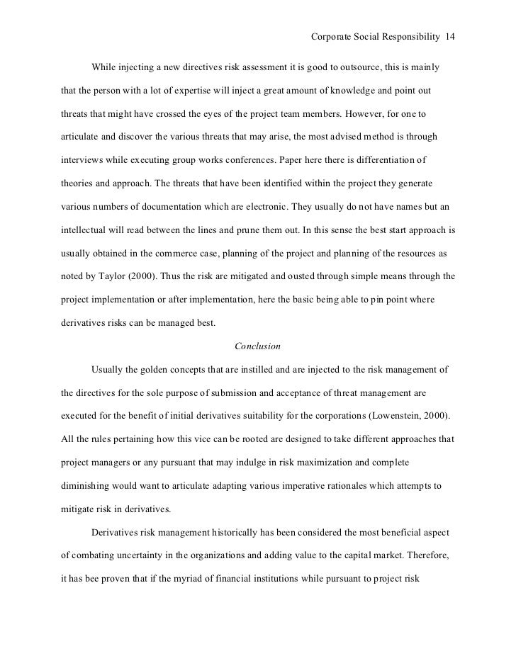 apa style essay corporate social responsibility 14
