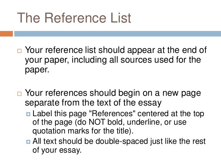 end of essay references Chicago manual of style both require an alphabetized list of references at the end of the paper cmos footnotes and endnotes should be detailed on first.