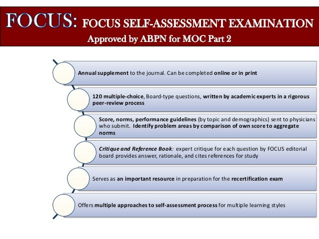 American Psychiatric Association- Support for MOC process of