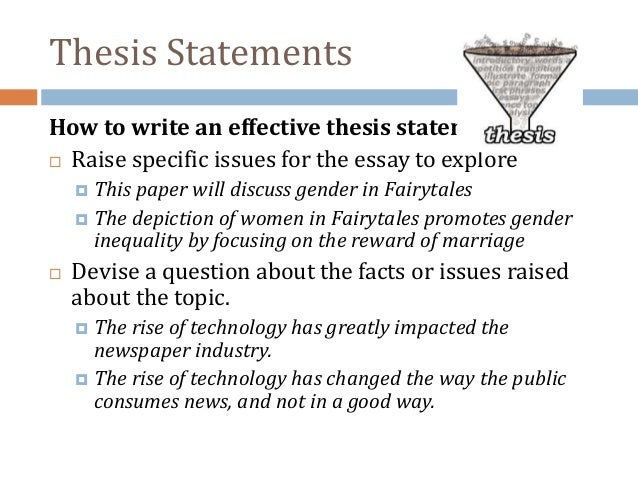 thesis statement on women Thesis statement to make the world a better place, women and men should have equal rights.