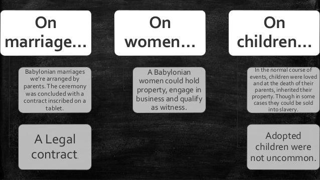babylonian women