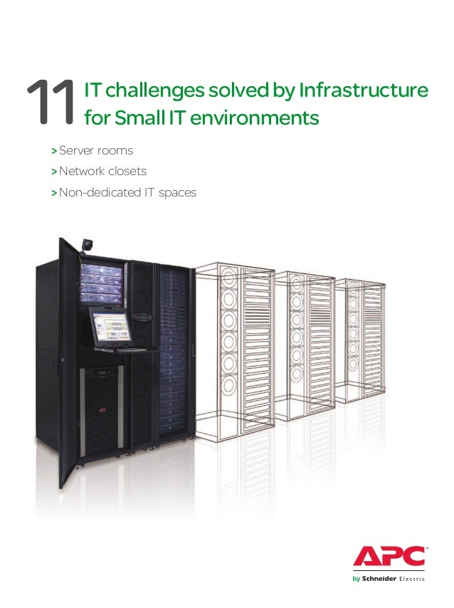 ITchallengessolvedbyInfrastructureforSmallITenvironments>Server rooms>Network closets>Non-dedicated IT spaces11