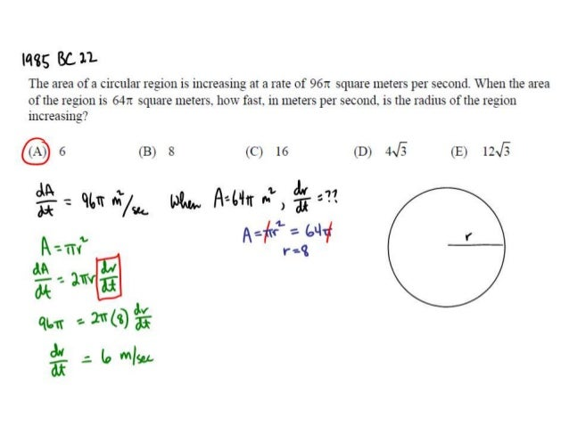 related rates calculus problems with solutions pdf