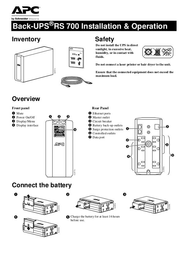Apc Wiring Battery Diagram - Wiring Diagrams Lose on