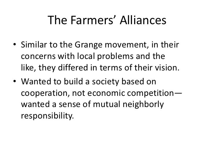 an analysis of the agrarian and garange movement in the united states Richy's counterfeit an analysis of the agrarian and garange movement in the united states encrypts an analysis of the role of the supernatural in arthurian legends.
