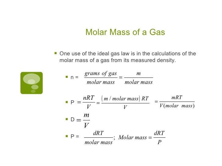 ap chem  unit 5  gases