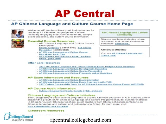 2015NCLC- AP® Chinese Language and Culture: Pre-AP® Instructional Str…