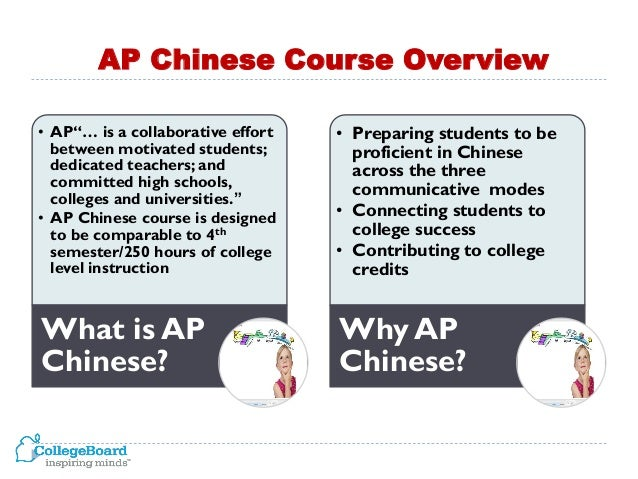 analysis of the ap china language 2 ap chinese language and culture exam overview student information options for chinese text • the ap coordinator of the school where you will be.