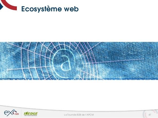 Ecosystème web 47La Tournée B2B de l'APCM