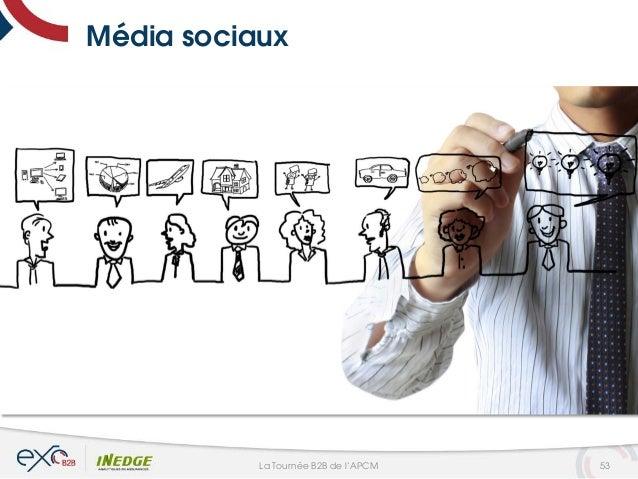 Média sociaux 53La Tournée B2B de l'APCM
