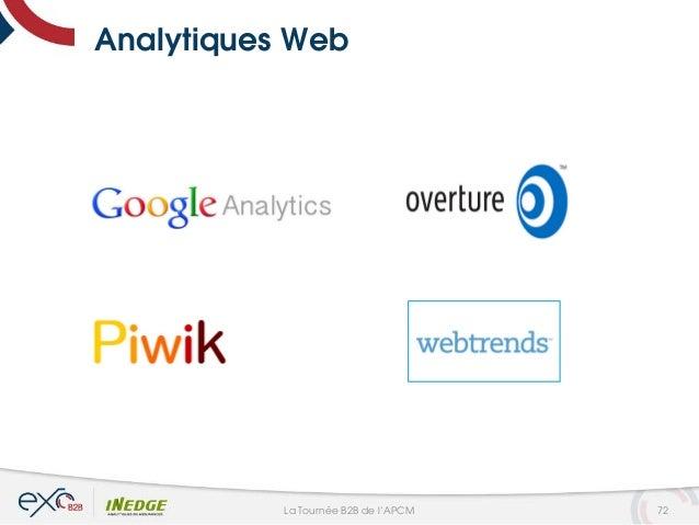 Analytiques Web 72La Tournée B2B de l'APCM