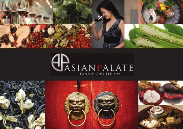 ABOUT ASIANPALATE.COMAsianPalate.com, founded by Jeannie Cho Lee MW, is a site that celebrates authentic Asian cuisine and...