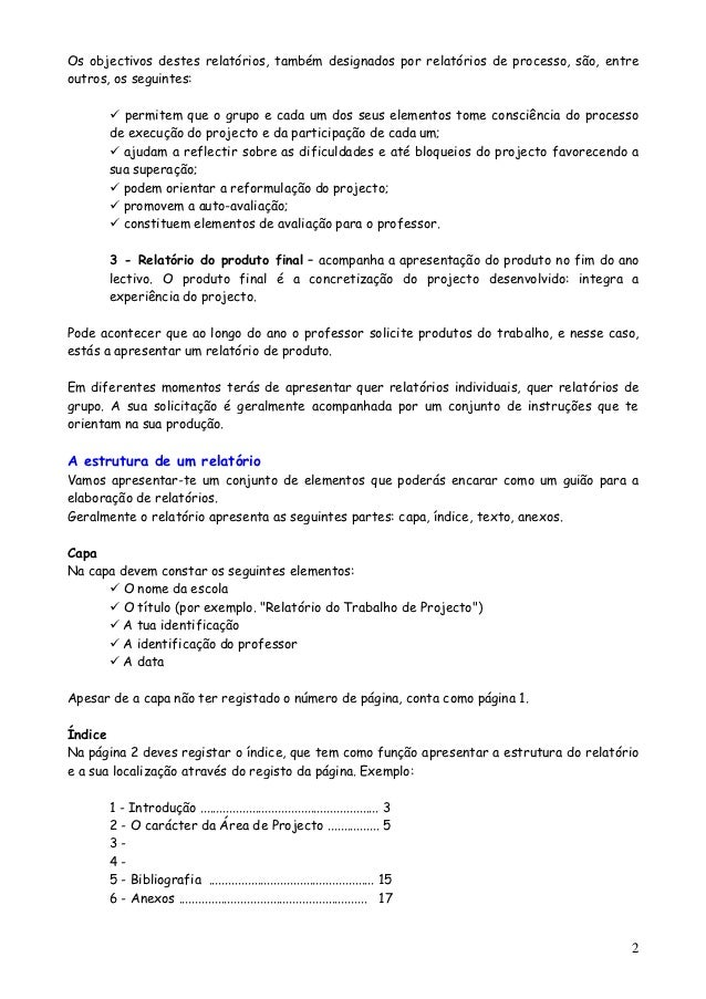 Ap como se_faz_um_relatorio_falling_star Slide 2