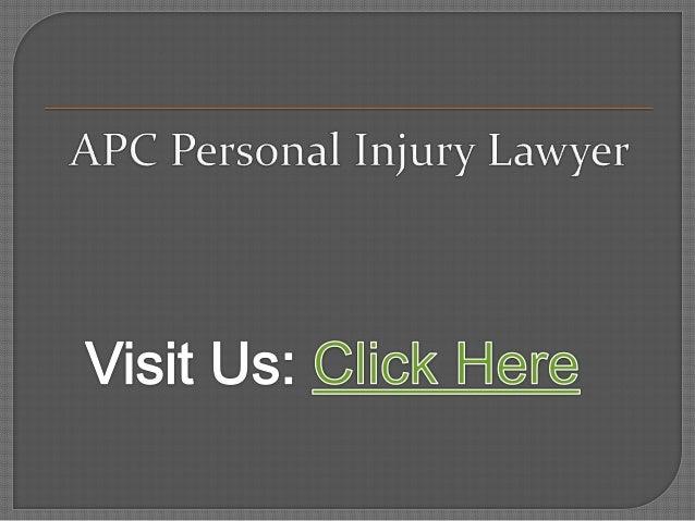 Personal Injury Lawyer Hamilton - APC Personal Injury Lawyer (800) 931-7036