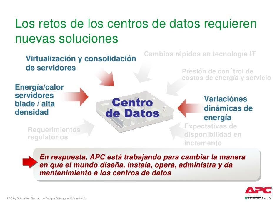 Los retos de los centros de datos requieren       nuevas soluciones                                                       ...