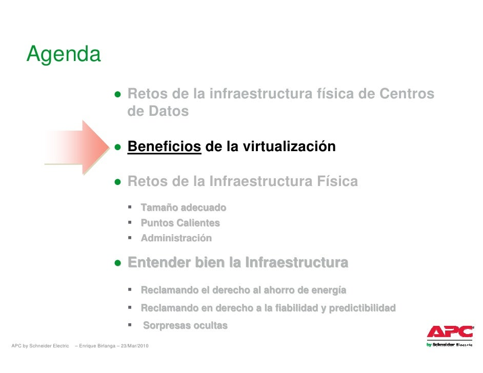 Agenda                                             ● Retos de la infraestructura física de Centros                        ...