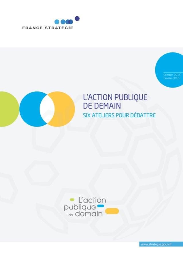 L'action publique de demain : 6 ateliers pour débattre