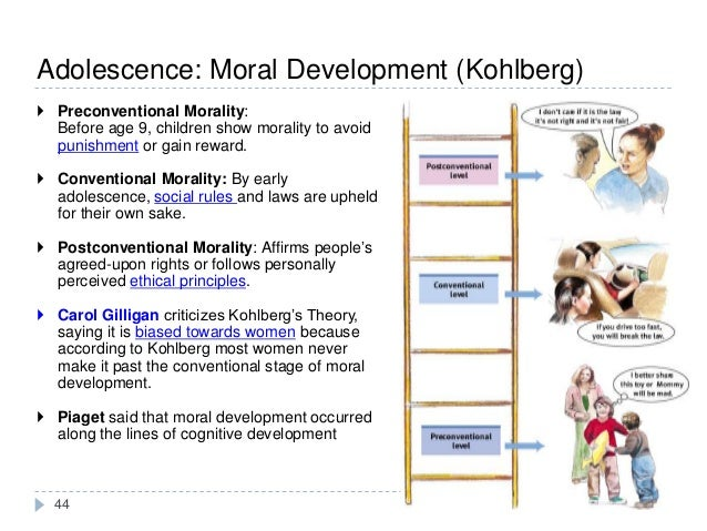 an analysis of rules and standards in cognitive moral development theory by lawrence kohlberg Kohlberg theory of moral reasoning and development individual differences, ethical judgment, and ethical behavior  kohlberg's stages of cognitive moral development stage 1 punishment and obedience orientation stage 2.