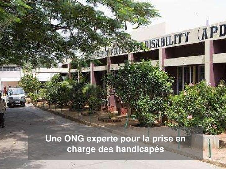 Une ONG experte pour la prise en    charge des handicapés