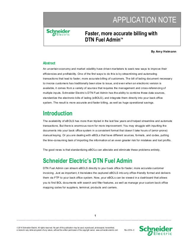 Faster, more accurate billing with DTN Fuel Admin™
