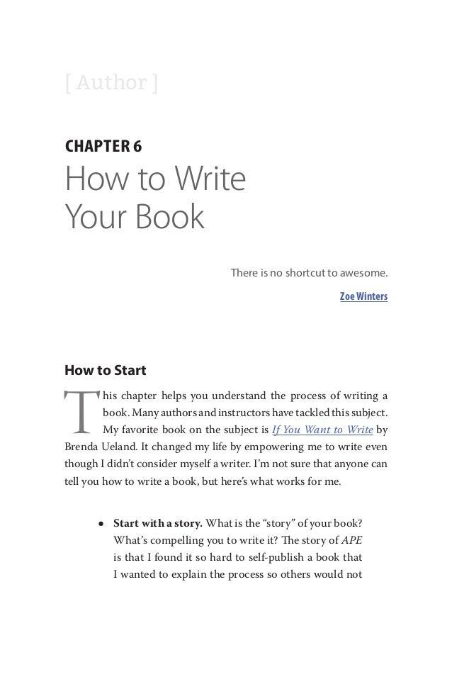 If You Want To Write Brenda Ueland Pdf