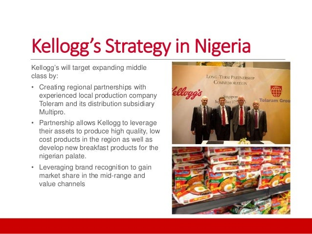Kellogg's in Nigeria: a joint venture for success