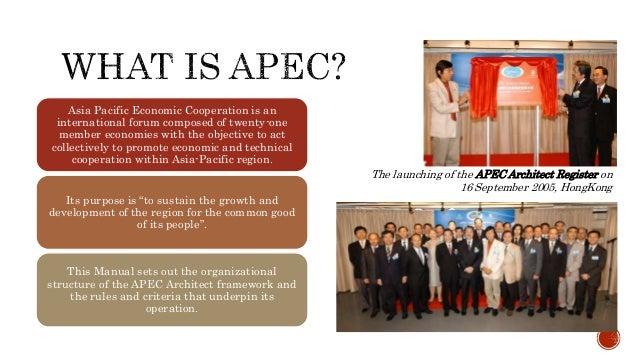 APEC ARCHITECTS OPERATION MANUAL – Operation Manual