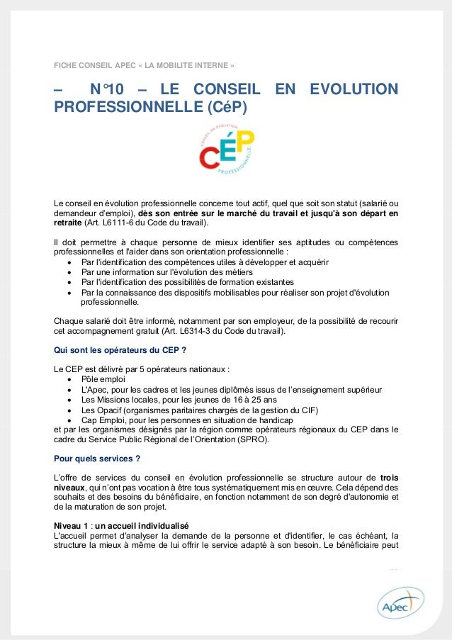 apec guide de l u0026 39  u00e9volution professionnelle 2015