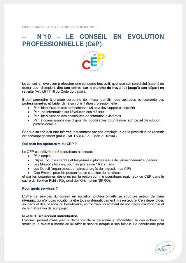 apec guide de l u0026 39  u00e9volution professionnelle 2015