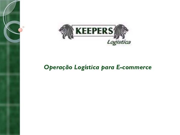 Operação Logística para E-commerce