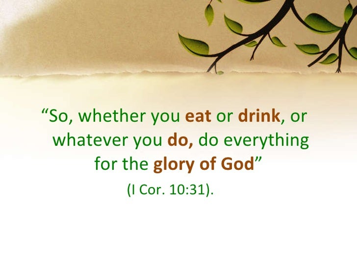 What Do Seventh Day Adventists Eat And Drink