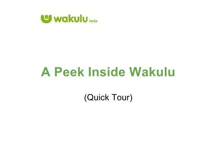 A Peek Inside Wakulu (Quick Tour)
