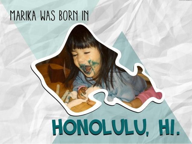 A Peek into the Life of Marika Slide 3