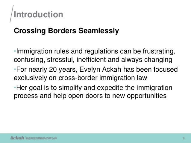 new opportunities 6 6 introduction crossing borders