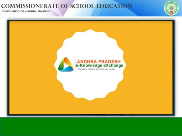 INTRODUCTION: What is Apekx: www.apekx.in Andhra Pradesh E-Knowledge Exchange Portal. It is a online initiative of school ...
