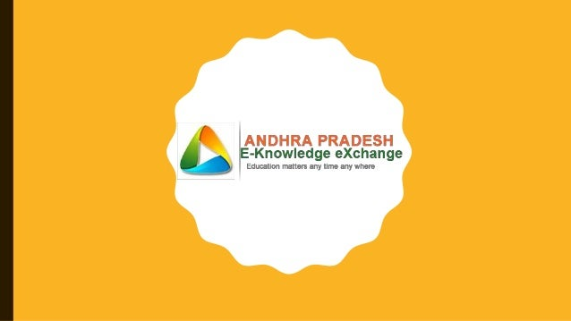 INTRODUCTION What is APEKX: www.apekx.in Andhra Pradesh E-Knowledge Exchange Portal. It is a online initiative of school e...