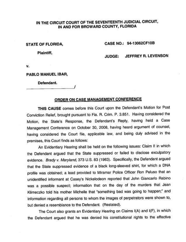 Caso Pablo Ibar: Orden por la que se admiten a trámite parte de los argumentos presentados en la apelación