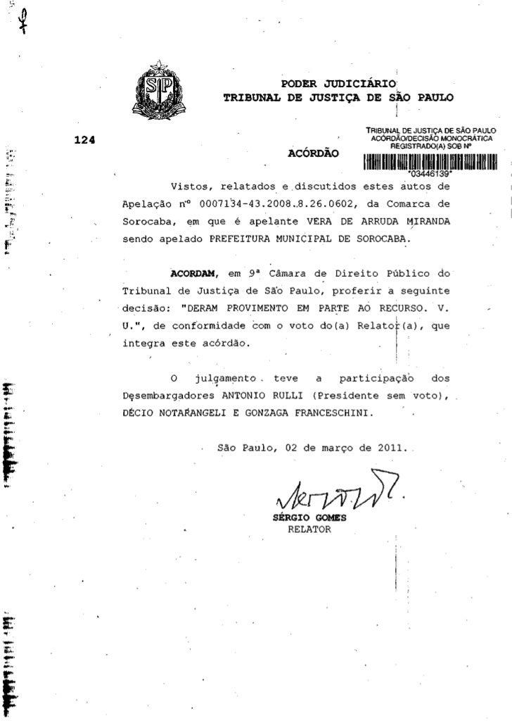 PODER JUDICIÁRIO!                  TRIBUNAL DE JUSTIÇA DE SAO PAULO                                           TRIBUNAL DE ...