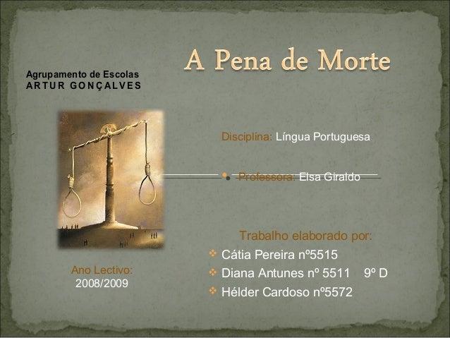 Agrupamento de Escolas ART UR GO NÇ AL VES Disciplina: Língua Portuguesa Professora: Elsa Giraldo Trabalho elaborado por: ...