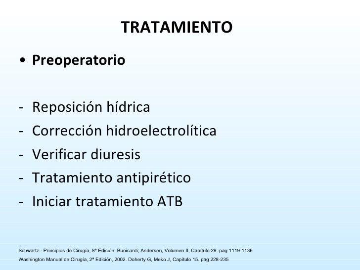 <ul><li>Preoperatorio </li></ul><ul><li>Reposición hídrica </li></ul><ul><li>Corrección hidroelectrolítica </li></ul><ul><...