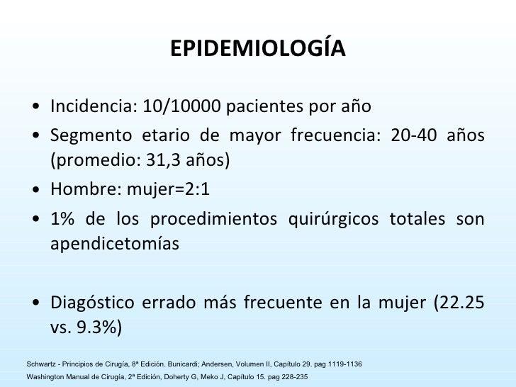 EPIDEMIOLOGÍA <ul><li>Incidencia: 10/10000 pacientes por año </li></ul><ul><li>Segmento etario de mayor frecuencia: 20-40 ...