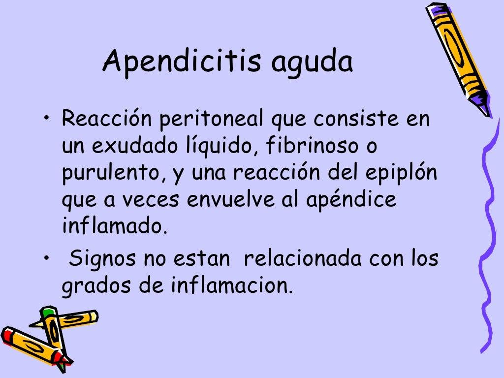 Apendicitis Aguda Dpto.Pediatria, Hosp.Escalante, Dr. De Franco page 10