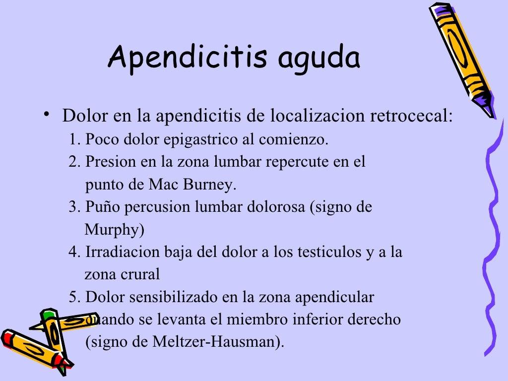 Apendicitis Aguda Dpto.Pediatria, Hosp.Escalante, Dr. De Franco page 13