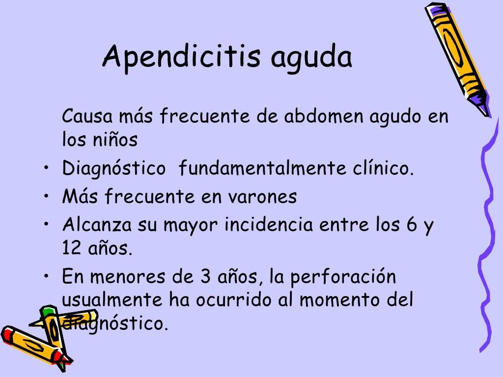 Apendicitis Aguda Dpto.Pediatria, Hosp.Escalante, Dr. De Franco page 2