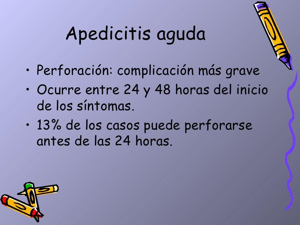 Apendicitis Aguda Dpto.Pediatria, Hosp.Escalante, Dr. De Franco page 6