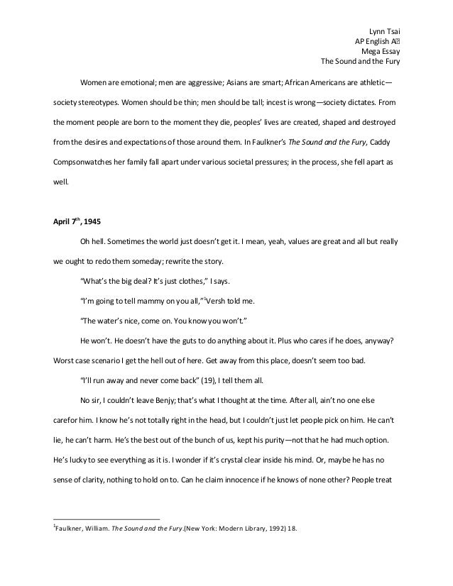 ap english mega essay ap english mega essay lynn tsai